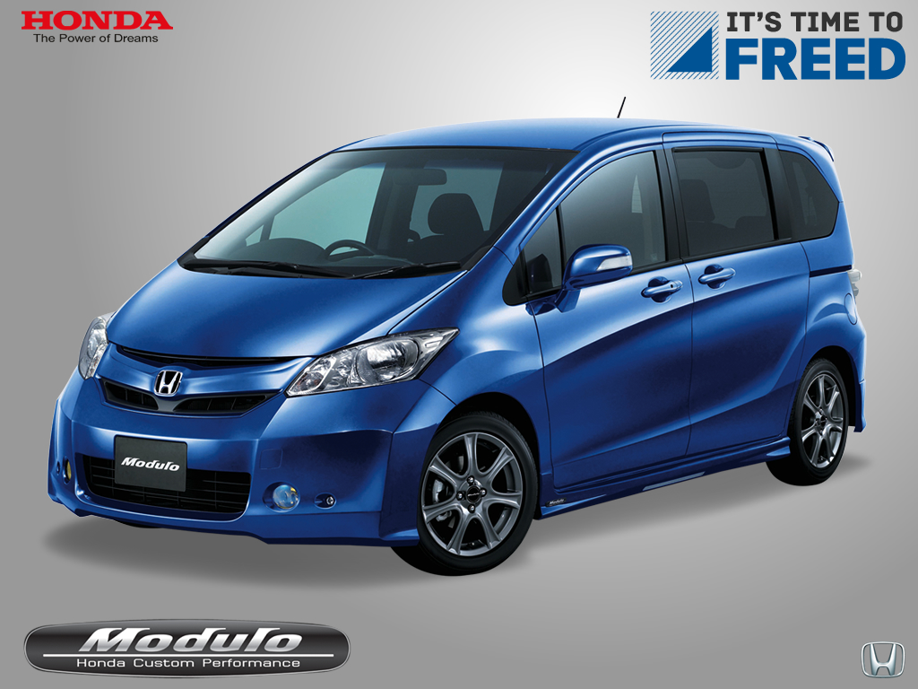 Honda s 7 seater mpv freed interior exterior picture for Honda 7 passenger