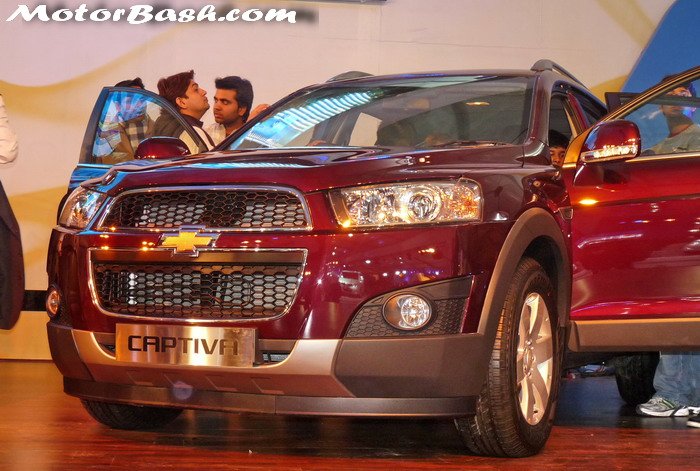 MotorBash Chevrolet Captiva 2012