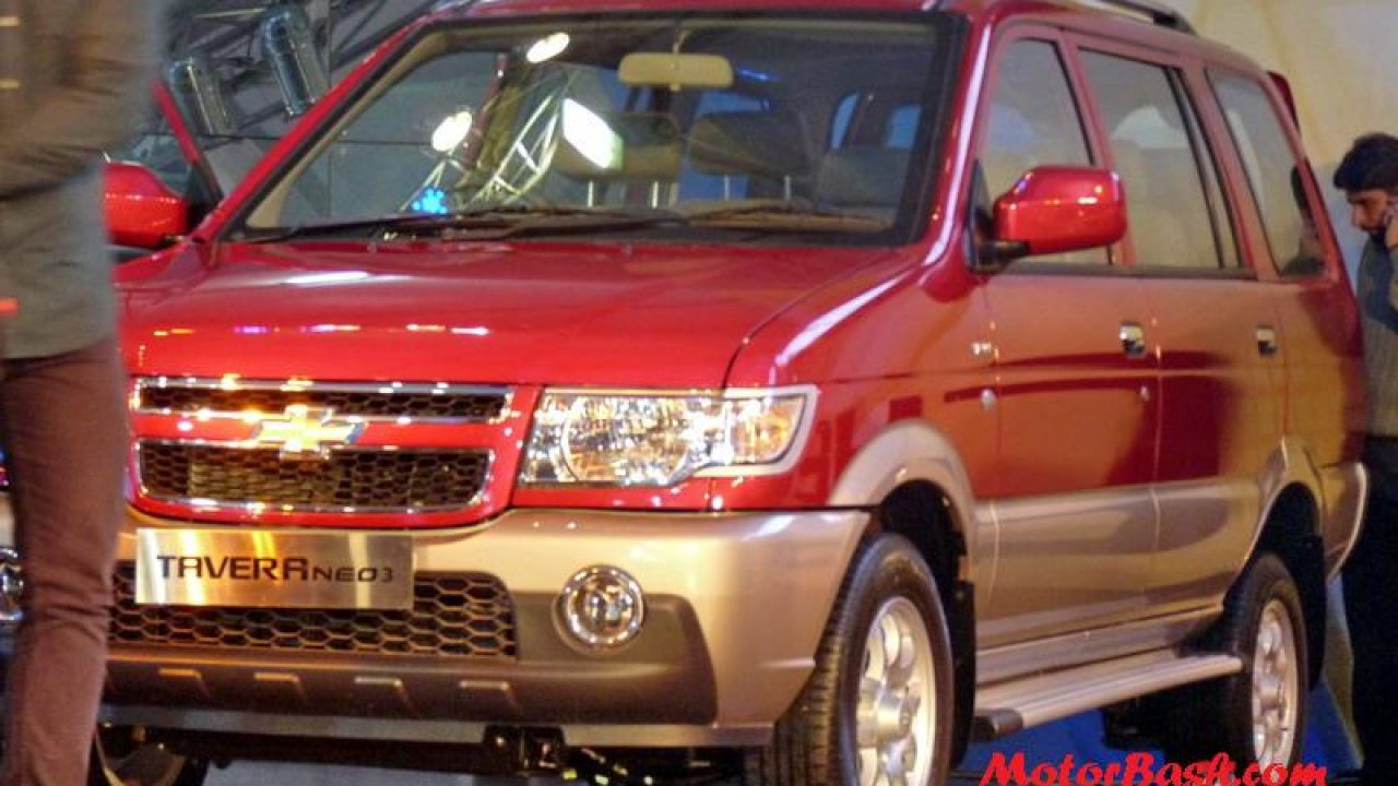 Chevrolet Tavera Neo 3 Launched At 6 72 Lakhs Motorbash Com