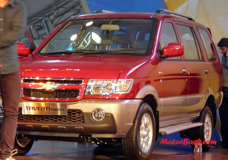 Chevrolet Launches Tavera Neo 3 Officially 751 Lakhs Motorbash