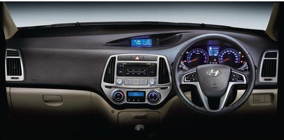 2012 Hyundai i20 interiors