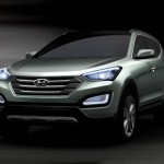 Hyundai Teases With Fluidic Santa Fe Renderings