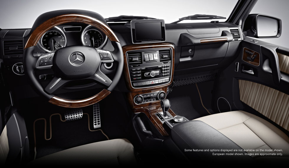 2013 G Class G550 Futuremodel Interior 01 Motorbash Com