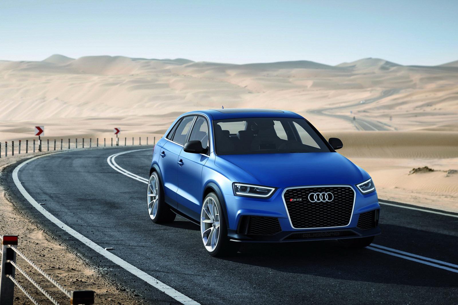 Audi Rs Q3 Crossover Revealed Motorbash Com