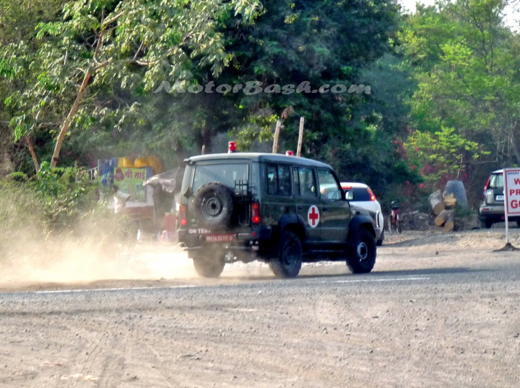 MotorBash TATA Defence Sumo Ambulance