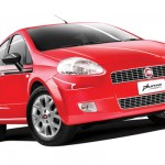 Fiat Grande Punto Limited Edition Red Front