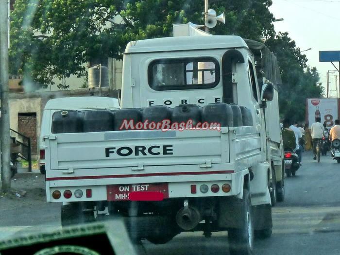 Force Trump 40 CNG testing MotorBash