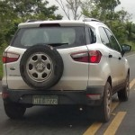 Ford EcoSport White Grey