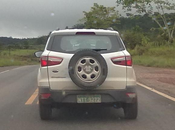 Ford EcoSport White Grey (3)