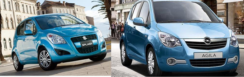 New 2012 Suzuki Splash & Opel Agila