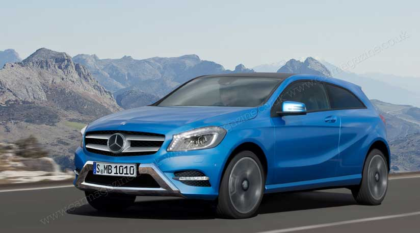 mercedes working on a new compact suv to compete with bmw x1. Black Bedroom Furniture Sets. Home Design Ideas
