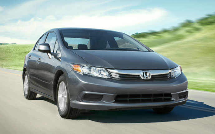 New 2012 Honda Civic