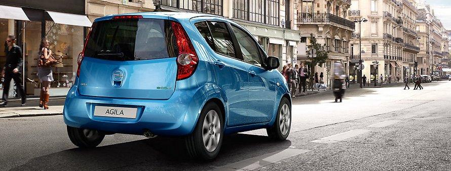 Opel Agila Blue Rear
