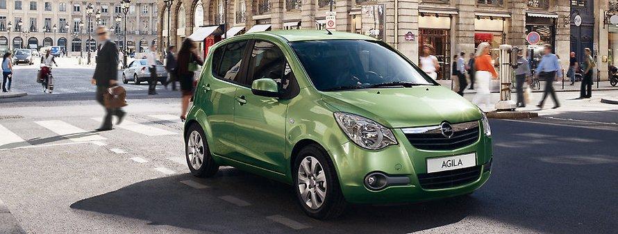 Opel Agila Green