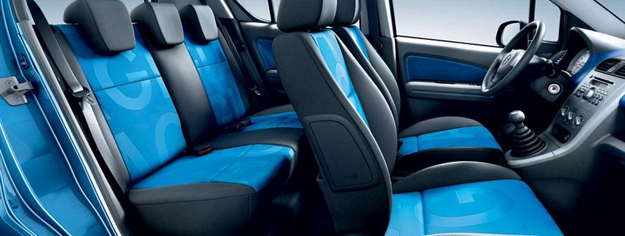 Opel Agila Interiors - Seat