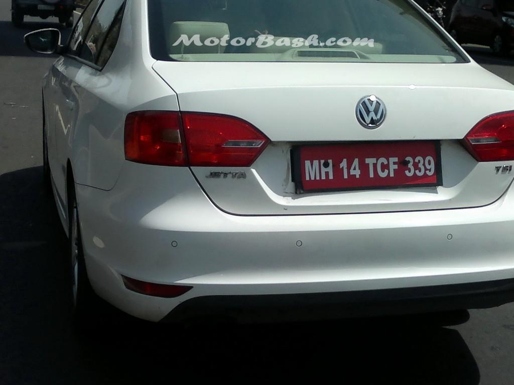 Volkswagen Jetta TSI petrol spied