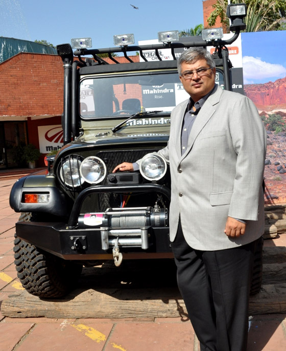 Mahindra Thar with AC