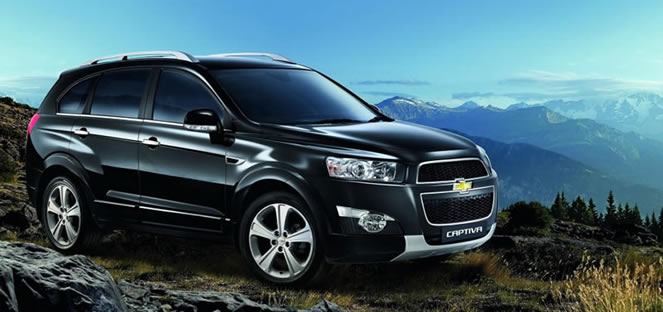 New 2012 Chevrolet Captiva Launched In Malaysia Expected