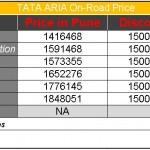 Aria_Price_OTR_Pune