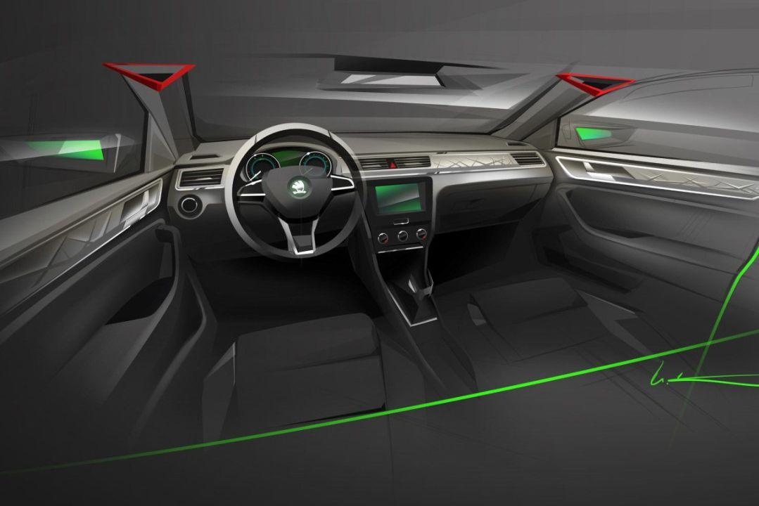 new car releases 2015 europeNew 2013 European Skoda Rapid Design Sketches Revealed  MotorBashcom