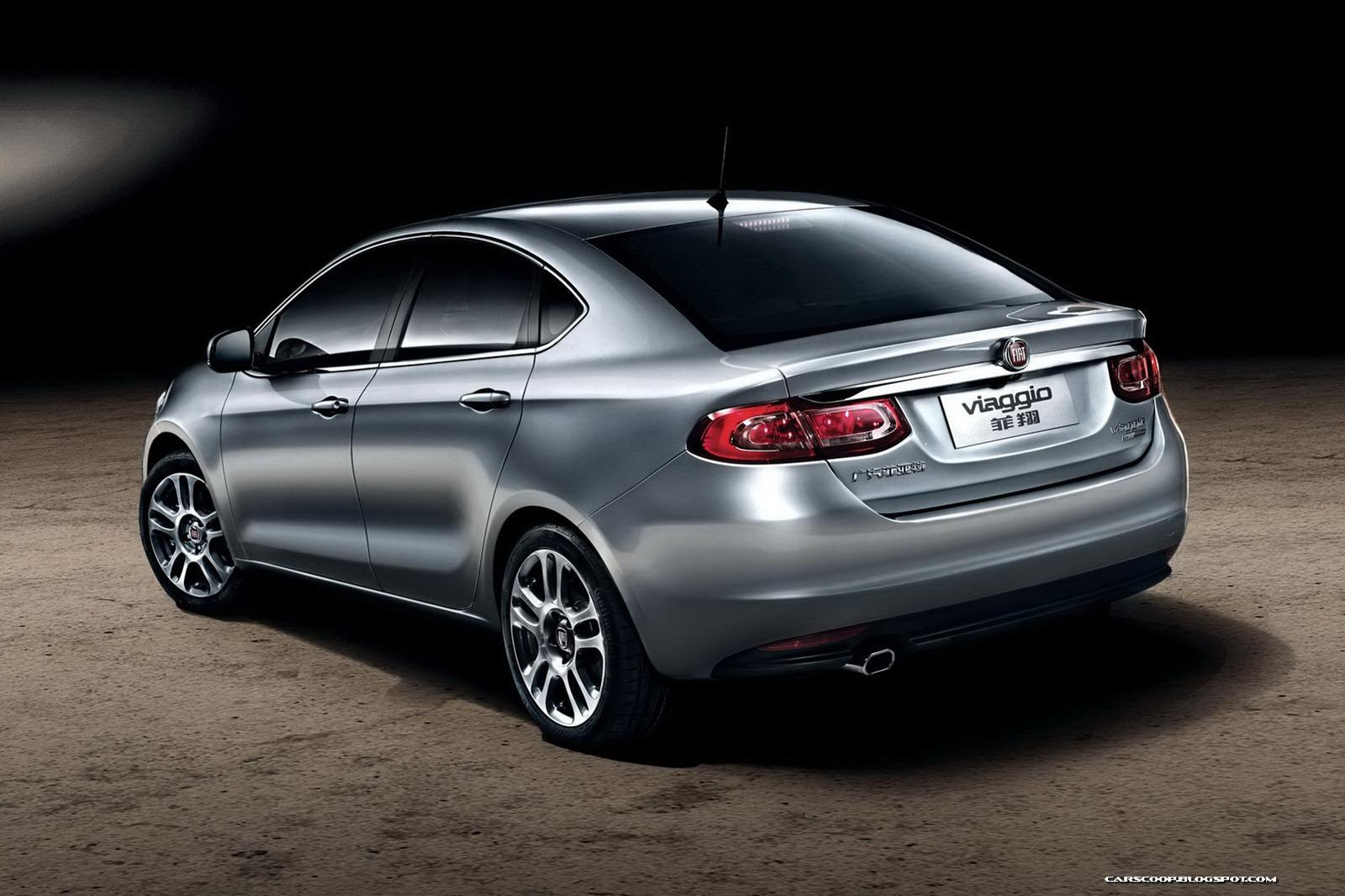 Fiat Viaggio Sedan Rolls Off The Production Line In China More
