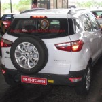 Ford EcoSport India spy pics