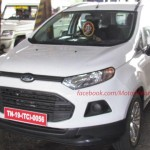Ford Ecosport spied India