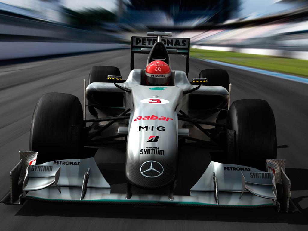 Michael Schumacher Mercedes 2010 Wallpaper
