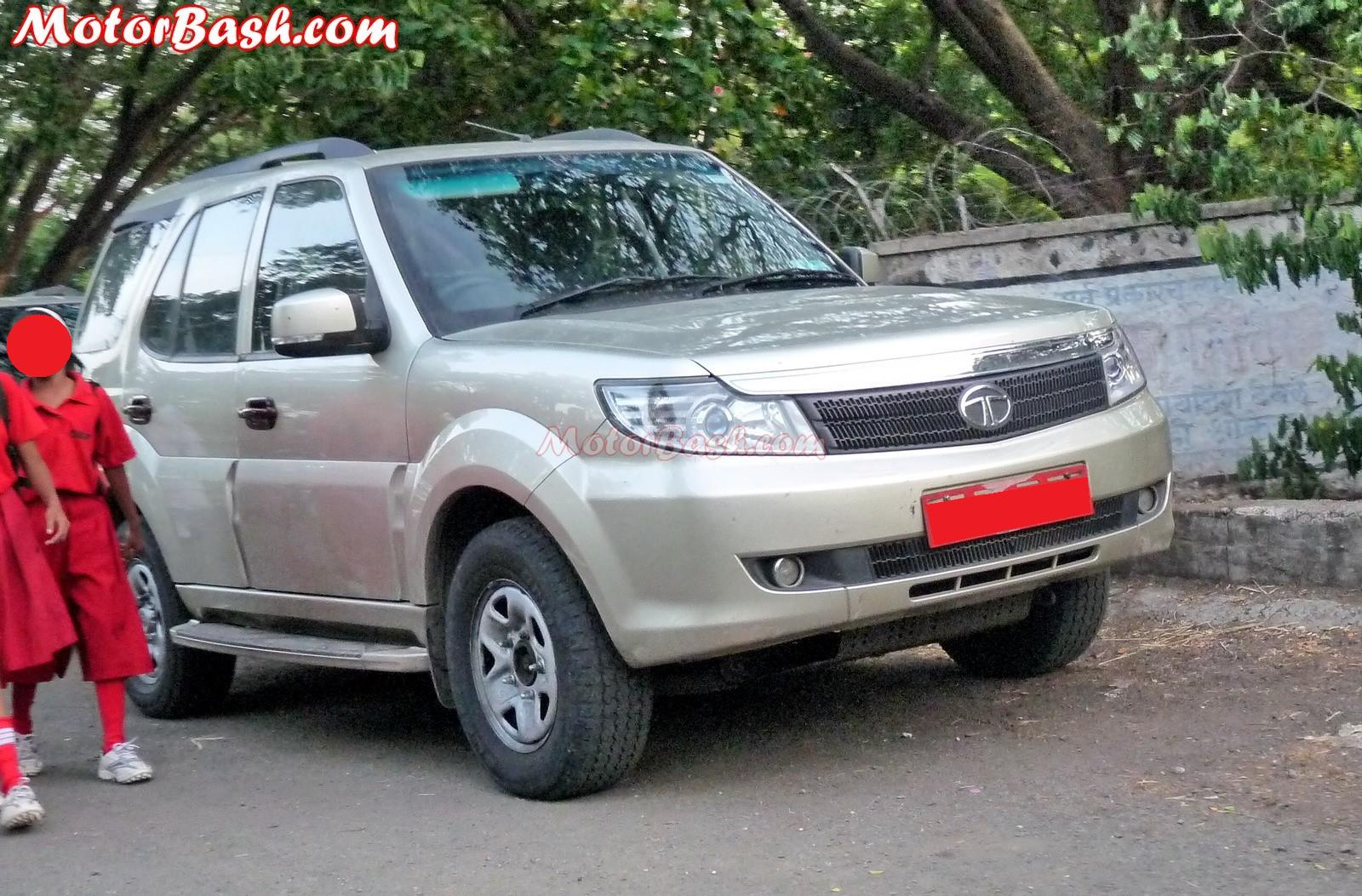 Tata Safari Storme latest pics