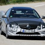 New Mercedes Benz E-Class Spotted Testing in Germany