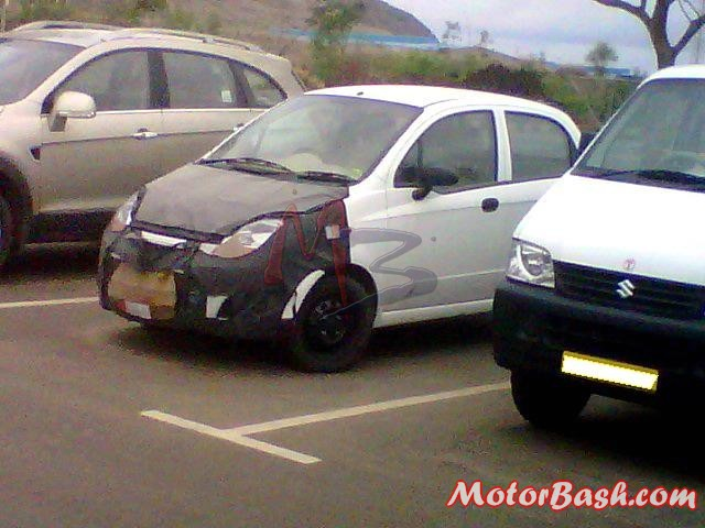 Chevrolet Spark facelift picture MotorBash