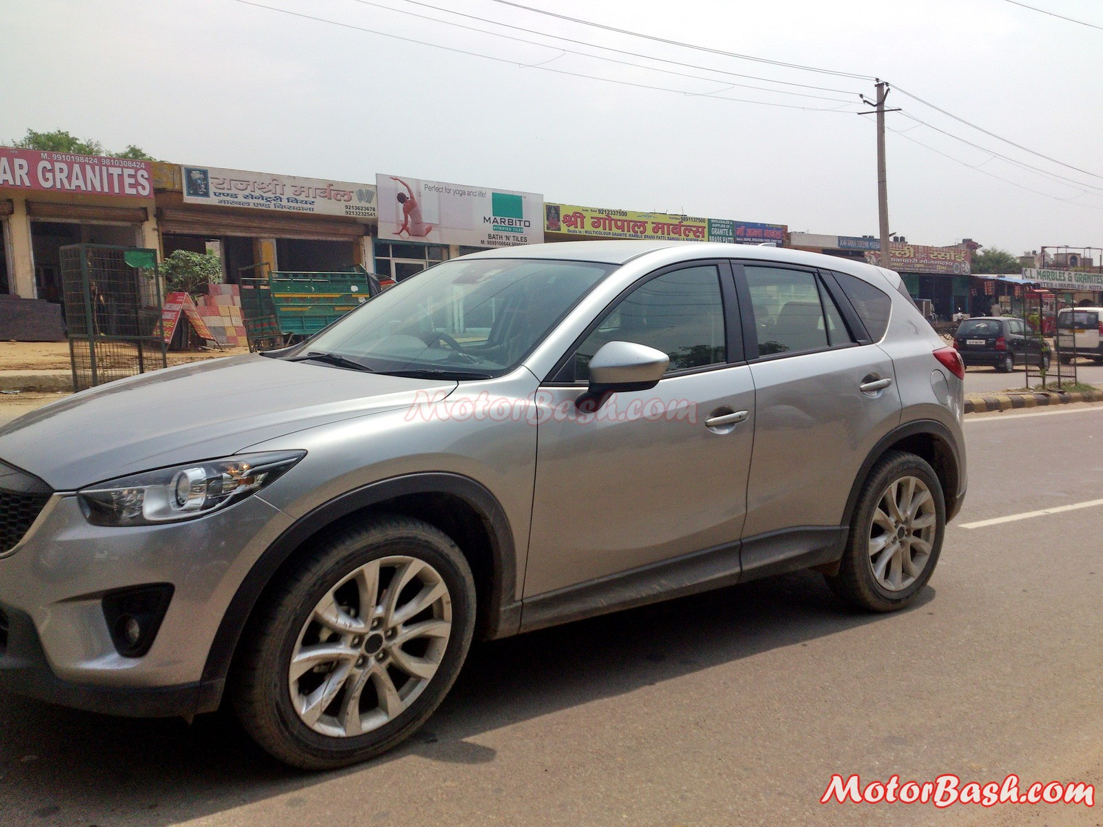 Mazda_CX-5_Testing_Gurgaon_By_MotorBash
