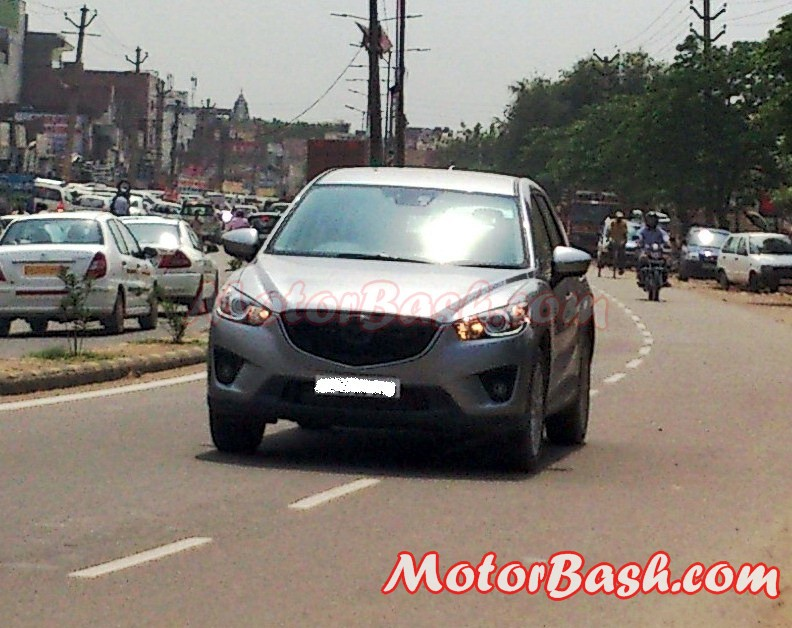 Mazda_CX-5_Testing_Gurgaon_By_MotorBash