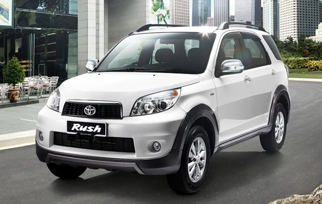 Toyota Rush Compact Suv India