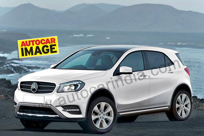 Two brand new mercedes suvs gla glk coming to india for Mercedes benz suv india