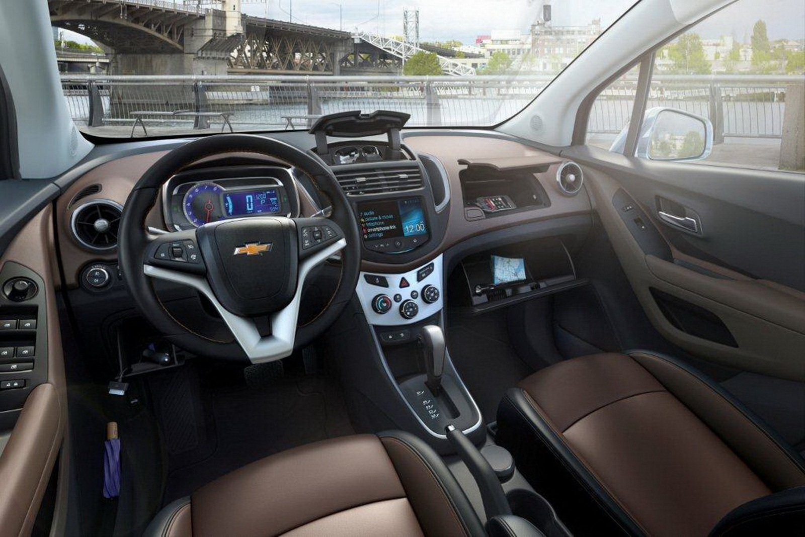 chevrolet trax showcased at paris auto show 47 pics inside. Black Bedroom Furniture Sets. Home Design Ideas
