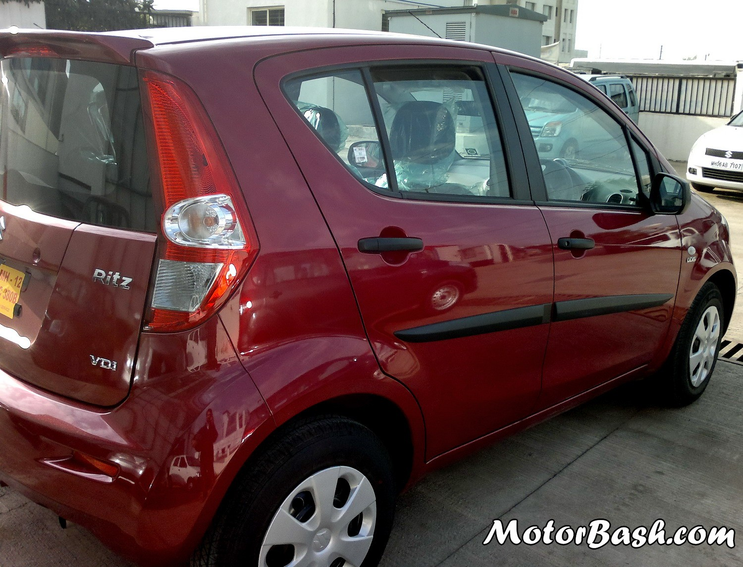 New_Maruti_Ritz_Red