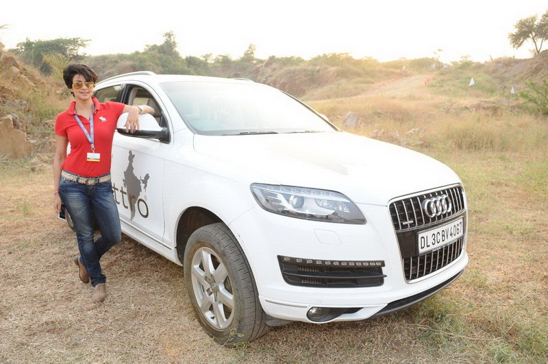 Gul Panag Promotes Audi S Q Suvs To Women Introduces Audi Q