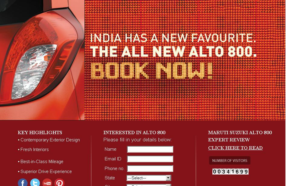 Maruti_Alto800_Bookings