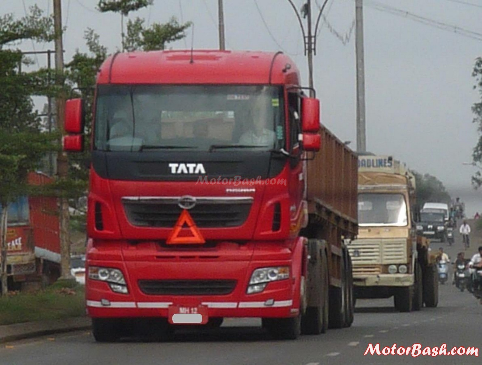 Tata motors launches tata alert highway assistance for Tata motors commercial vehicles