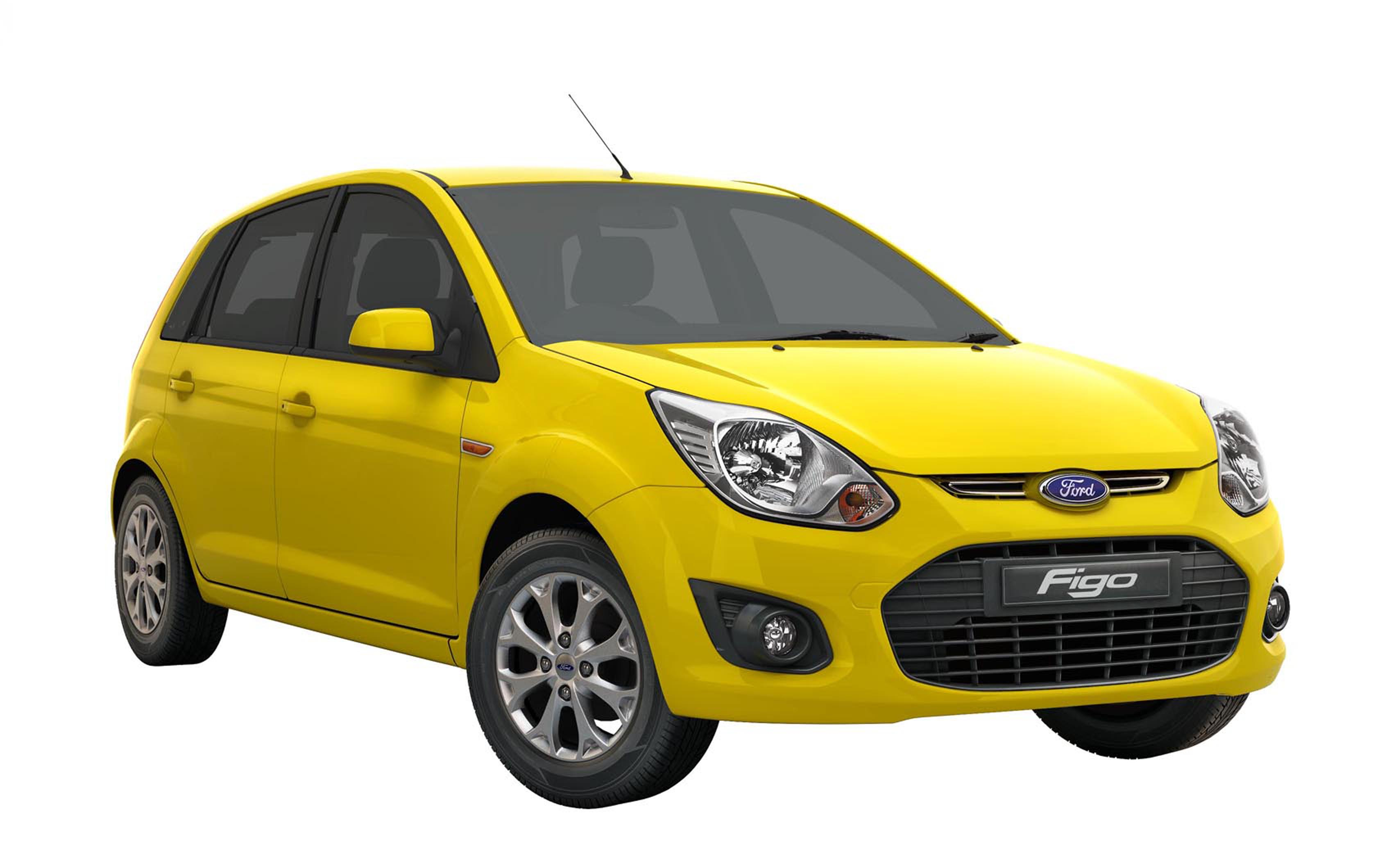 New_Ford_Figo-Yellow