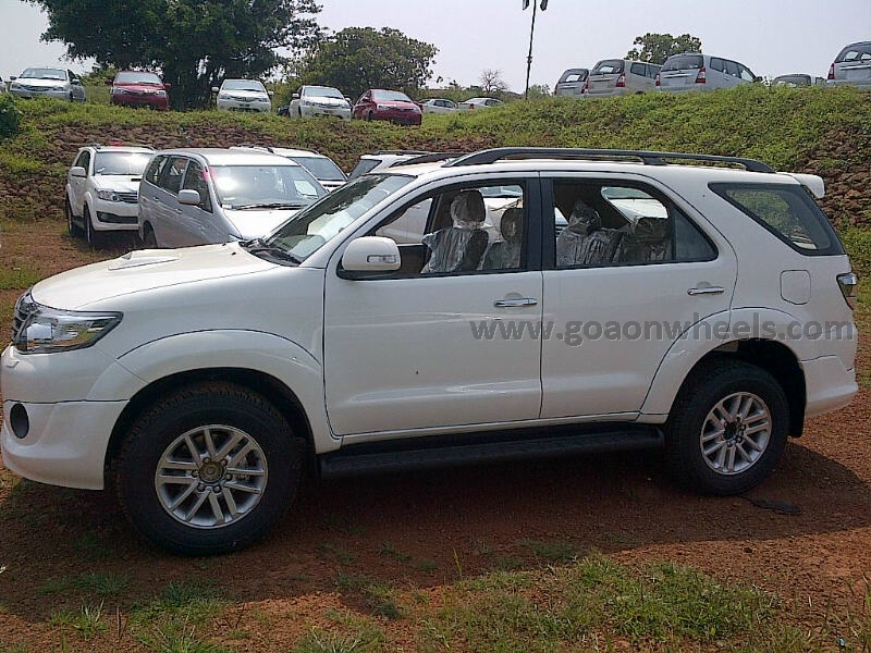 New Shape Toyota Fortuner 2013 In India | Autos Weblog