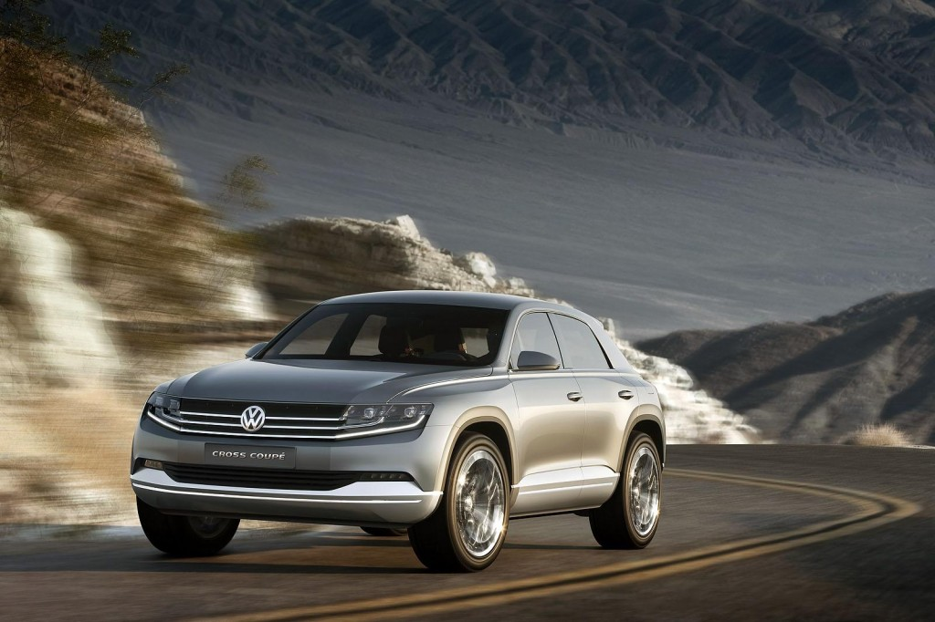 Volkswagen's signature MQB platform will underpin this SUV and this will ...