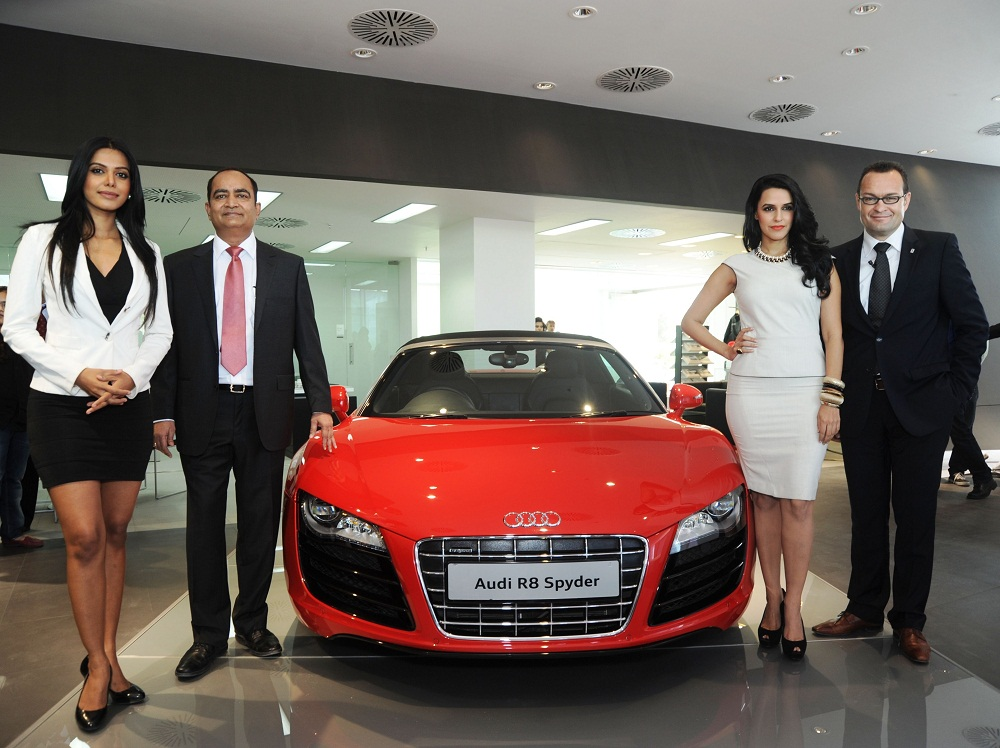 Audi Opens Largest Luxury Car Showroom In Ahmedabad