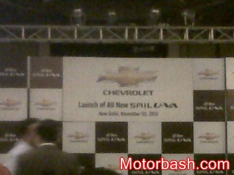 Chevrolet Sail U-VA Live launch Coverage