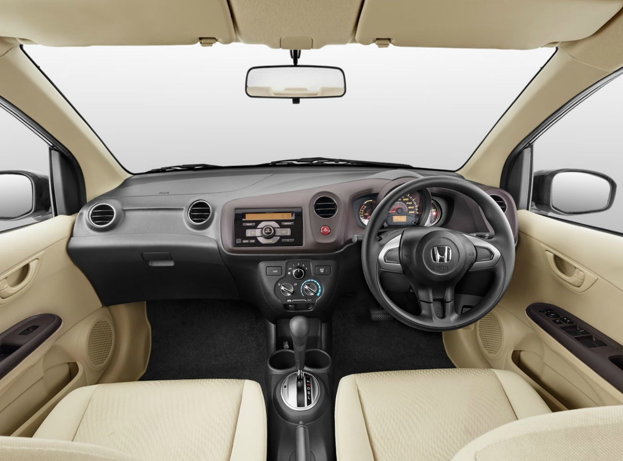 Honda amaze interior images galleries for Image city interiors