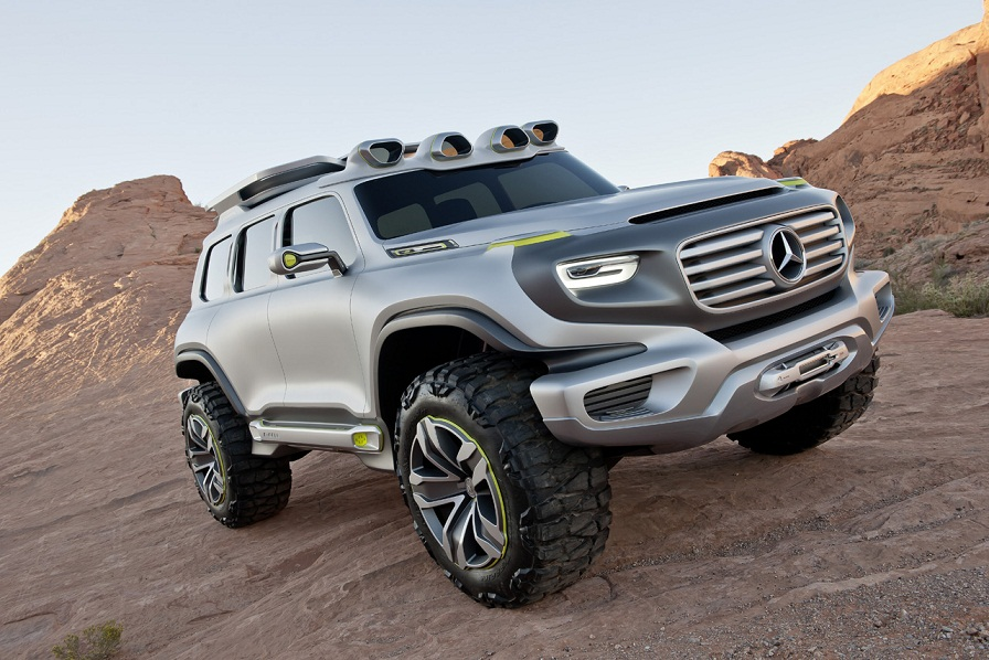 g class of the future mercedes unveils ener g force concept suv. Black Bedroom Furniture Sets. Home Design Ideas