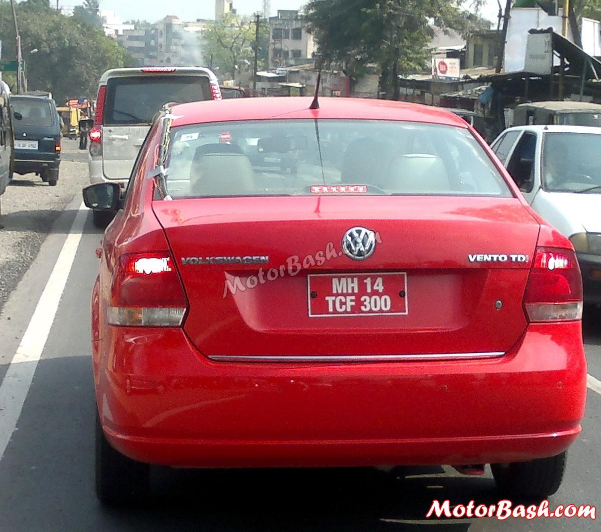 Mb Xclusive Scoop Volkswagen Vento Cng Spied In Pune