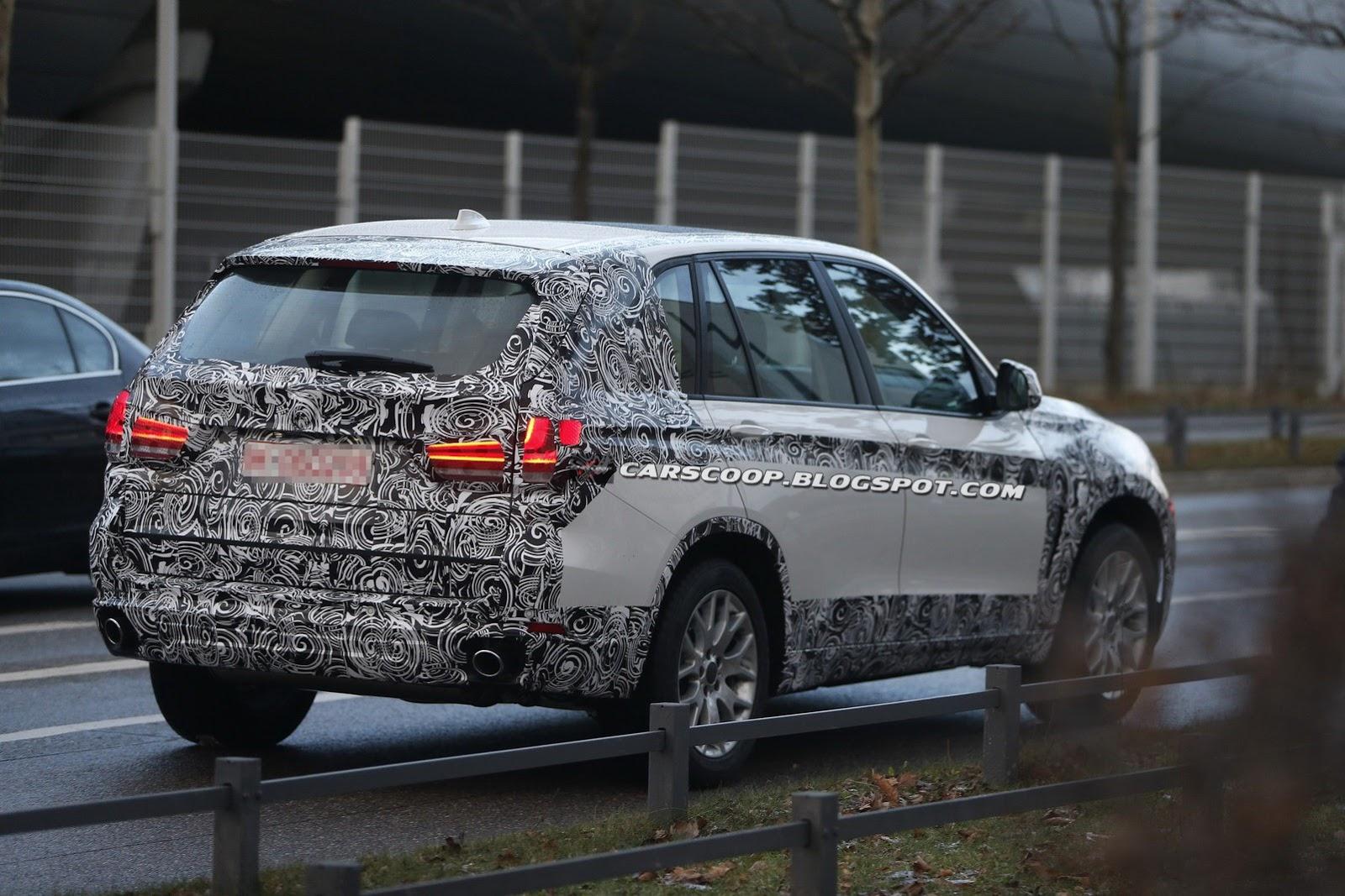 2014-BMW-X5-Spyshot-Rear
