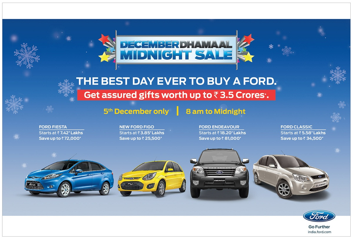 Ford-December-Dhamaal-Midnight-Sale